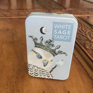 White Sage Tarot 78 Cards Deck + 64 Page